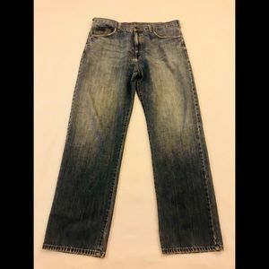Calvin Klein Relaxed Straight Jeans Men's 36 x 32